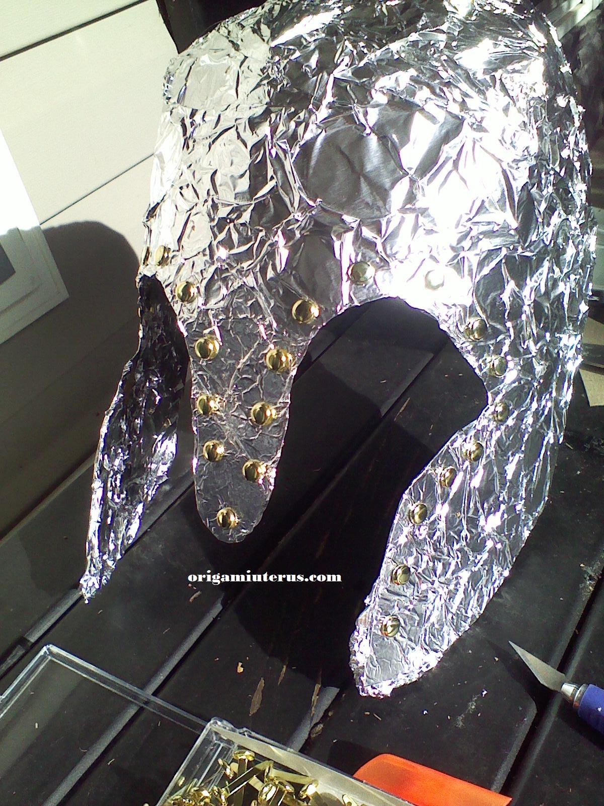 Athena's Corinthian Helmet: A How-to Guide | Origami Uterus How To Make Athenas Helmet