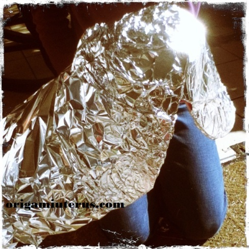 Applying foil