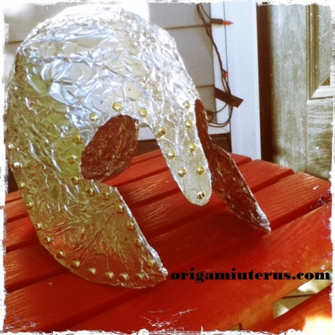 Finished Corinthian Helmet